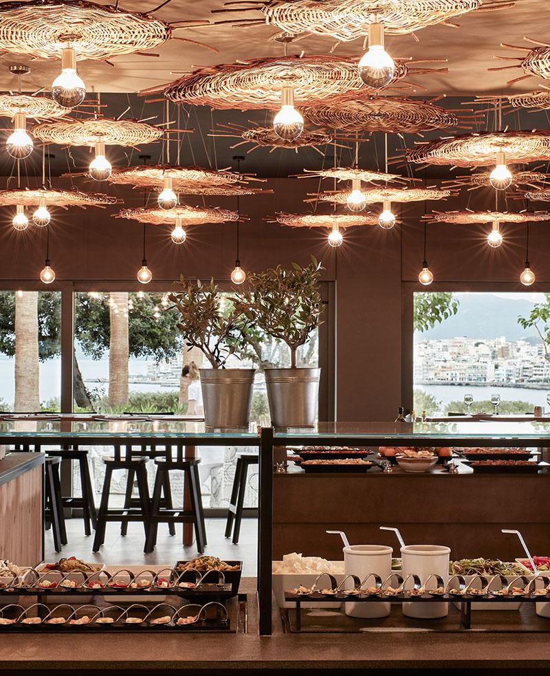 Minos Palace - Amalthea Restaurant